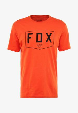 SHIELD PREMIUM TEE - T-Shirt print - orange