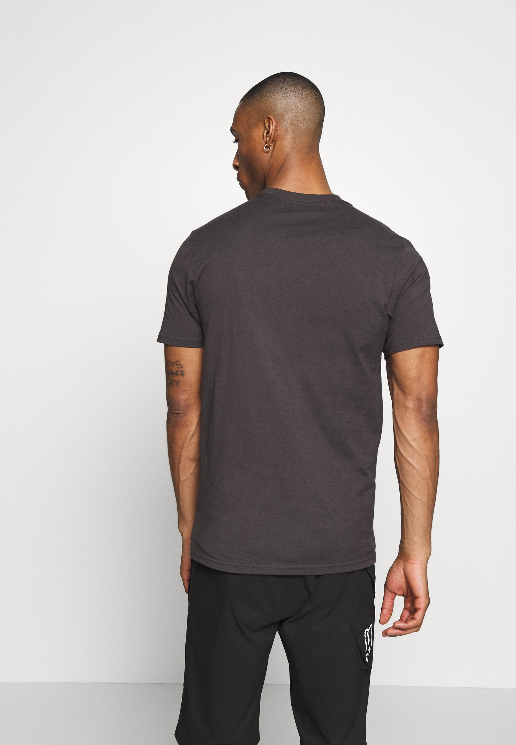 Fox Racing SHIELD PREMIUM TEE - T-shirt imprimé - black/green