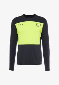 Fox Racing - DEFEND DELTA LUNAR - Funktionsshirt - day glow yellow - 7