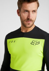 Fox Racing - DEFEND DELTA LUNAR - Funktionsshirt - day glow yellow - 3