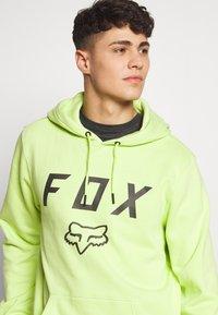 Fox Racing - LEGACY MOTH - Kapuzenpullover - neon green - 4