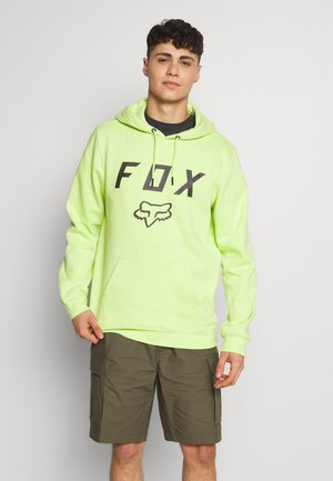LEGACY MOTH - Sweat à capuche - neon green