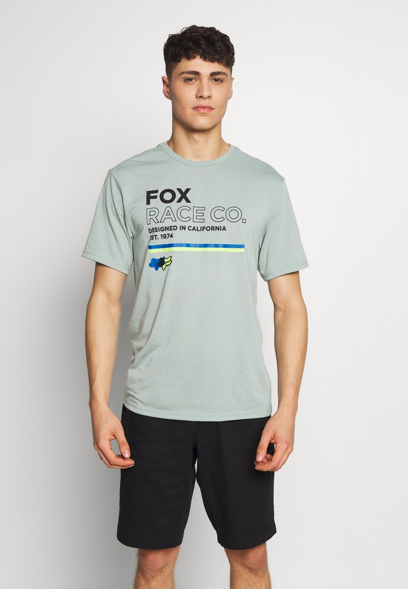 Fox Racing - ANALOG TECH TEE - T-Shirt print - light green