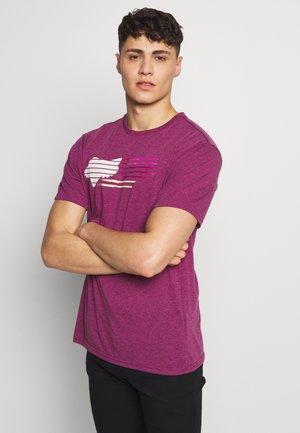 LIGHTSPEED HEAD TECH TEE  - Funkční triko - purple