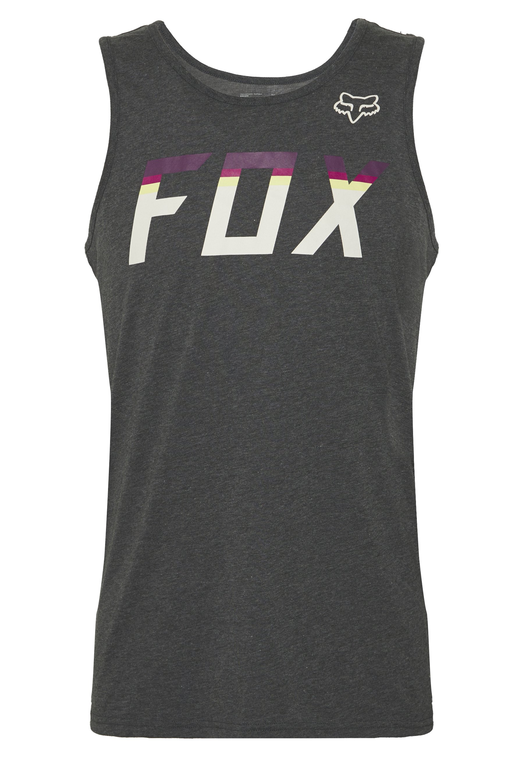 Fox Racing On Deck Tech Tank - T-shirt Sportiva Heather Black d0rvq