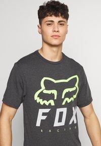 Fox Racing - HERITAGE FORGER TECH TEE - T-Shirt print - black/green - 4