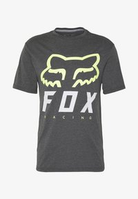 Fox Racing - HERITAGE FORGER TECH TEE - T-Shirt print - black/green - 3