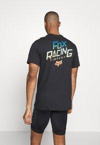 Fox Racing - CRUISER TEE - T-Shirt print - black - 0