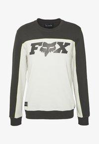 Fox Racing - MILLER CREW - Mikina - black vintage - 4