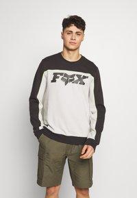 Fox Racing - MILLER CREW - Sweatshirt - black vintage - 0