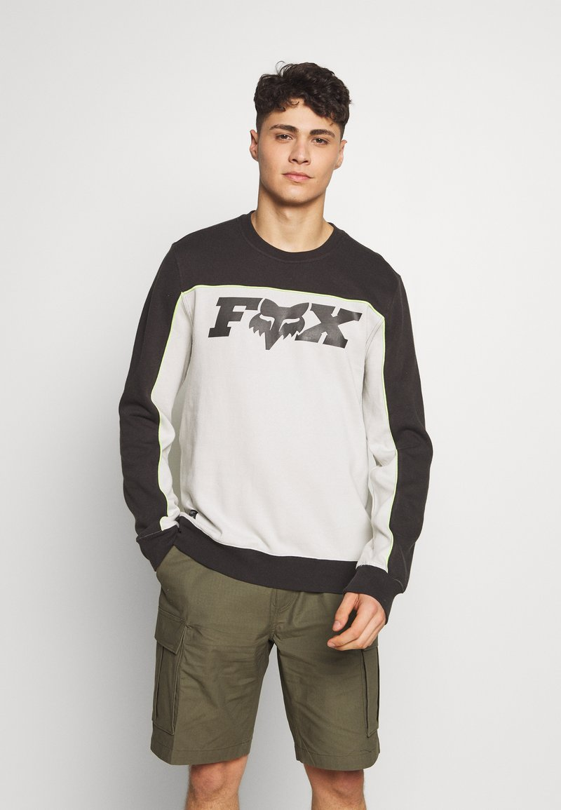 Fox Racing - MILLER CREW - Sweatshirt - black vintage