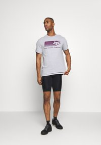 Fox Racing - DRIFTER TEE - T-Shirt print - light heather grey - 1