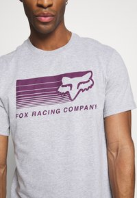 Fox Racing - DRIFTER TEE - T-Shirt print - light heather grey - 4