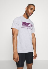 Fox Racing - DRIFTER TEE - T-Shirt print - light heather grey - 0