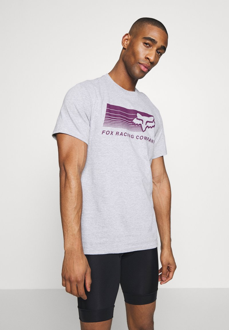 Fox Racing - DRIFTER TEE - T-Shirt print - light heather grey