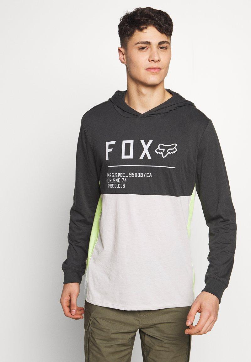 Fox Racing - NON STOP HOODED - Langarmshirt - black vintage