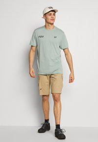 Fox Racing - STARTER CREW - T-Shirt print - turquoise - 1