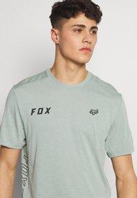 Fox Racing - STARTER CREW - T-Shirt print - turquoise - 4