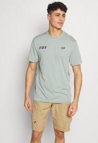 Fox Racing - STARTER CREW - T-Shirt print - turquoise - 0