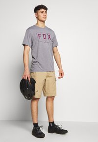 Fox Racing - SHIELD TECH TEE - T-Shirt print - grey - 1
