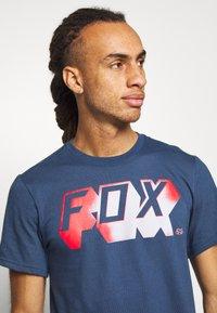 Fox Racing - TEE - T-Shirt print - dark blue - 3