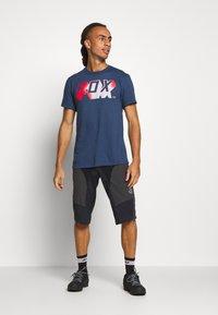 Fox Racing - TEE - T-Shirt print - dark blue - 1