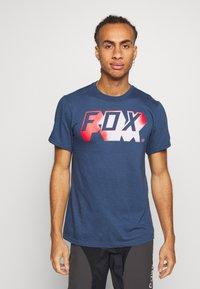 Fox Racing - TEE - T-Shirt print - dark blue - 0