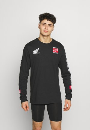 YOSHIMURA HONDA TEE - Long sleeved top - black