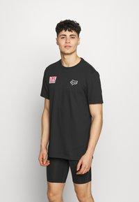 Fox Racing - YOSHIMURA HONDA WING TEE - T-Shirt print - black - 2