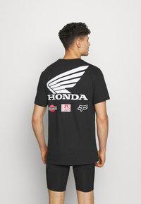 Fox Racing - YOSHIMURA HONDA WING TEE - T-Shirt print - black - 0
