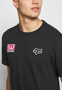 Fox Racing - YOSHIMURA HONDA WING TEE - T-Shirt print - black - 4