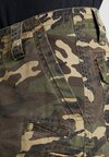 Fox Racing - SLAMBOZO CAMO CARGO SHORT - kurze Sporthose - green