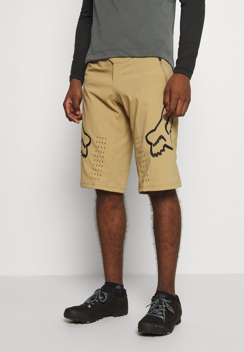 Fox Racing - DEFEND - Outdoor shorts - khaki