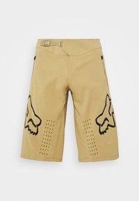 Fox Racing - DEFEND - Outdoor shorts - khaki - 4