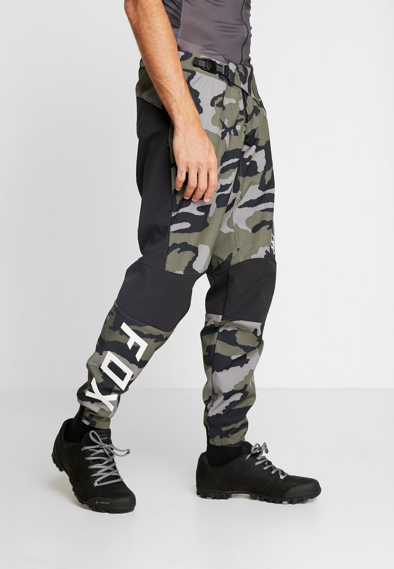 Fox Racing - DEFEND FIRE PANT - Stoffhose - green