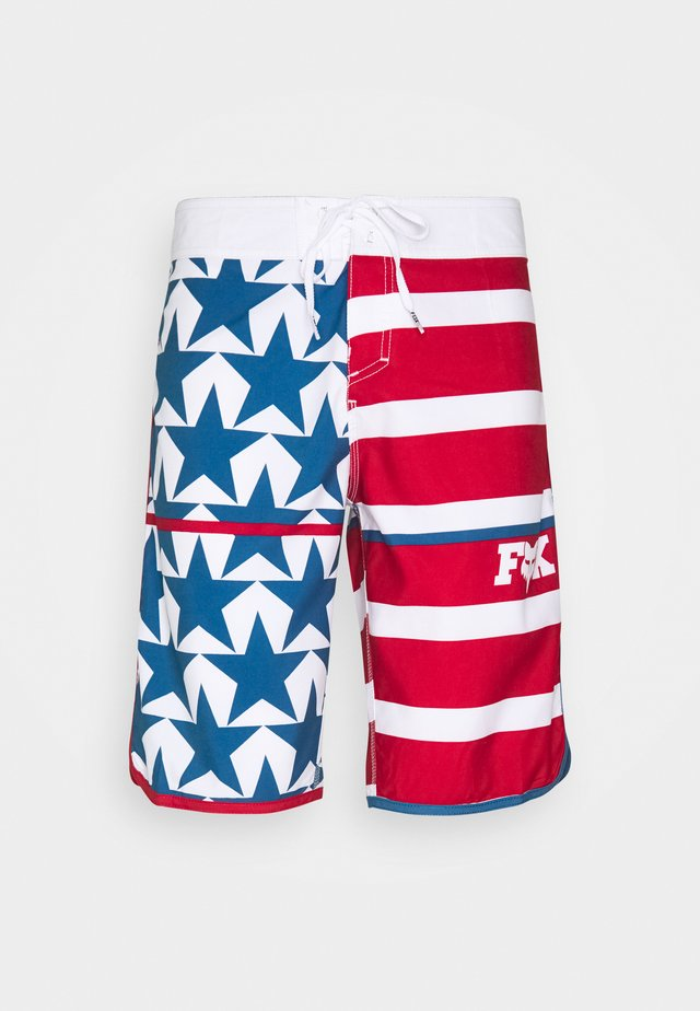 CITIZEN BOARDSHORT - Sports shorts - blue/red