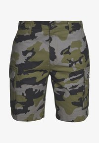 Fox Racing - SLAMBOZO CAMO SHORT - Sports shorts - green - 4