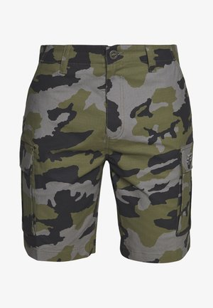 SLAMBOZO CAMO SHORT - Sports shorts - green
