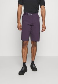 Fox Racing - FLEXAIR SHORT NO LINER - kurze Sporthose - dark purple - 0