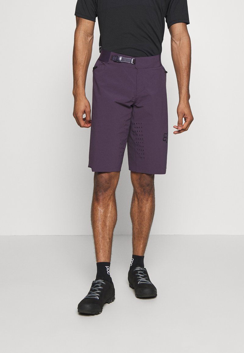 Fox Racing - FLEXAIR SHORT NO LINER - kurze Sporthose - dark purple