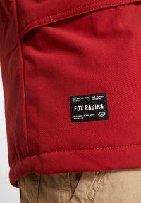 Fox Racing - ARLINGTON JACKET - Kurtka Outdoor - black - 4