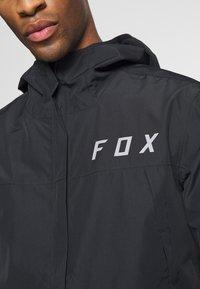 Fox Racing - RANGER WATER JACKET - Regenjacke / wasserabweisende Jacke - black - 6