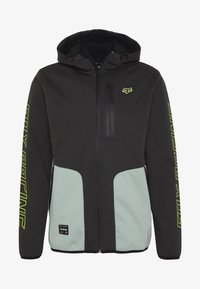Fox Racing - BARRICADE - Softshelljacke - black - 4