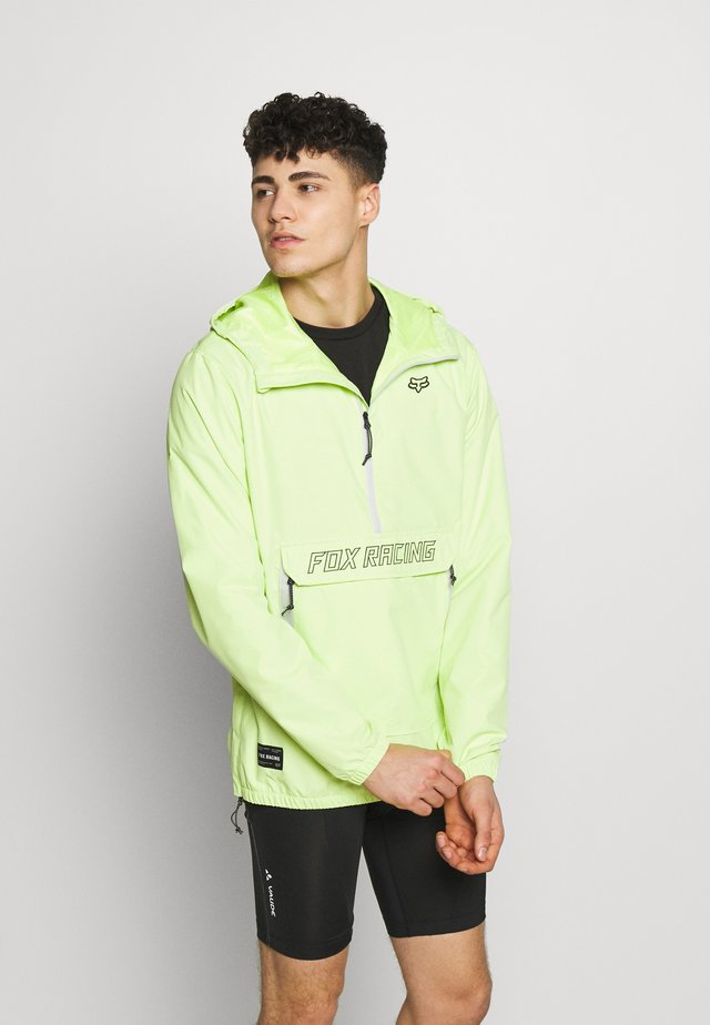 SAVAGE ANORAK JACKET - Windbreaker - neon green