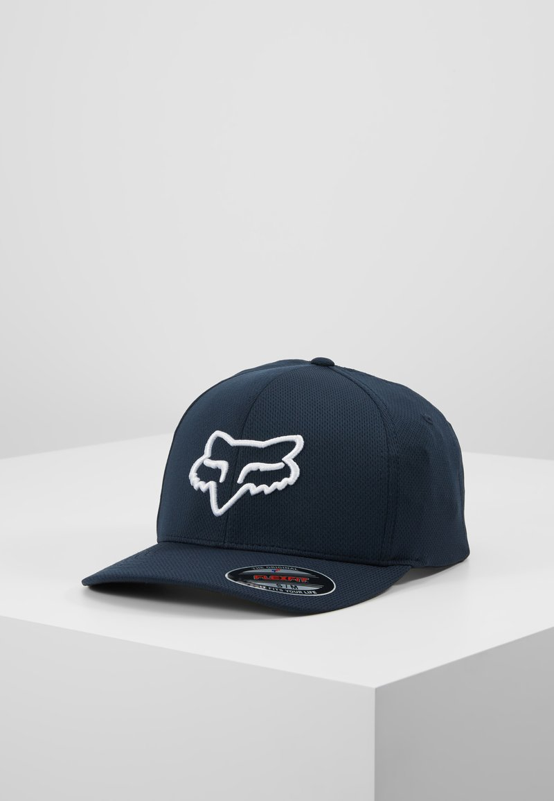 Fox Racing - LITHOTYPE FLEXFIT HAT - Cap - navy/white