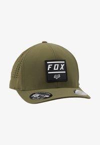 Fox Racing - LISTLESS FLEXFIT HAT - Muts - olive green - 4