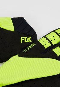 Fox Racing - FLEXAIR GLOVE LUNAR - Fingerhandschuh - day glow yellow - 4