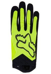 Fox Racing - FLEXAIR GLOVE LUNAR - Fingerhandschuh - day glow yellow - 2