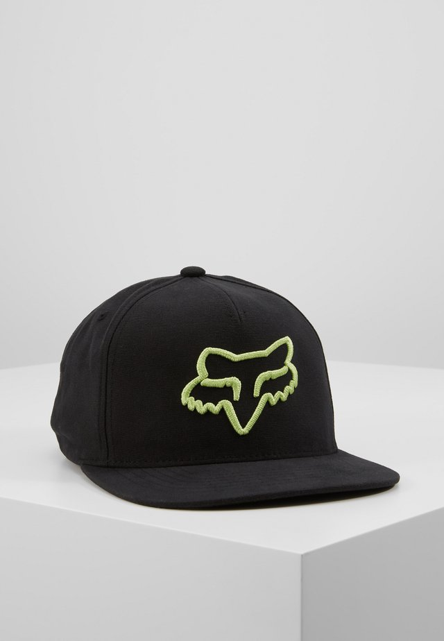 INSTILL SNAPBACK - Cap - black/green
