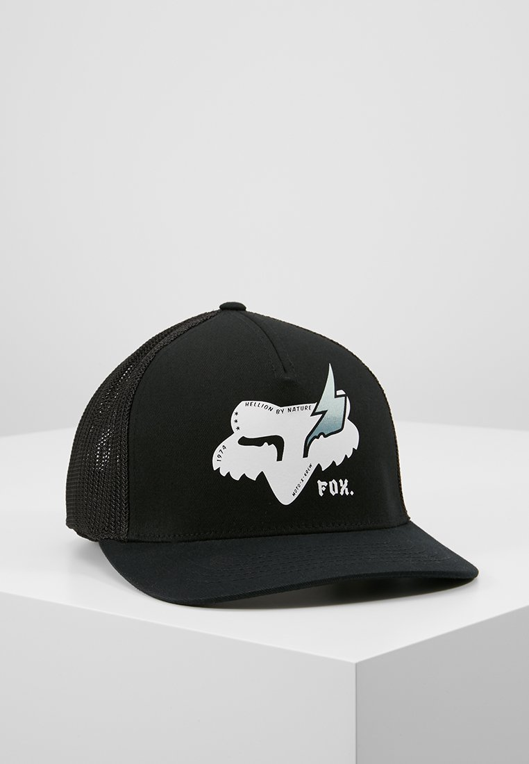 Fox Racing - HELLION FLEXFIT HAT - Kšiltovka - black